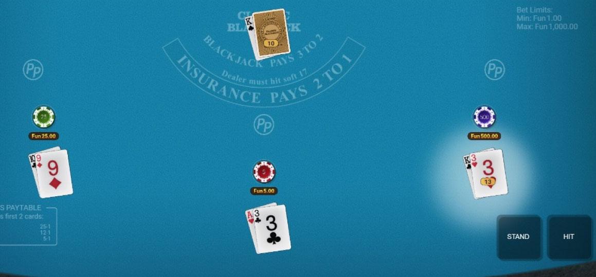 accoppiamenti perfetti blackjack