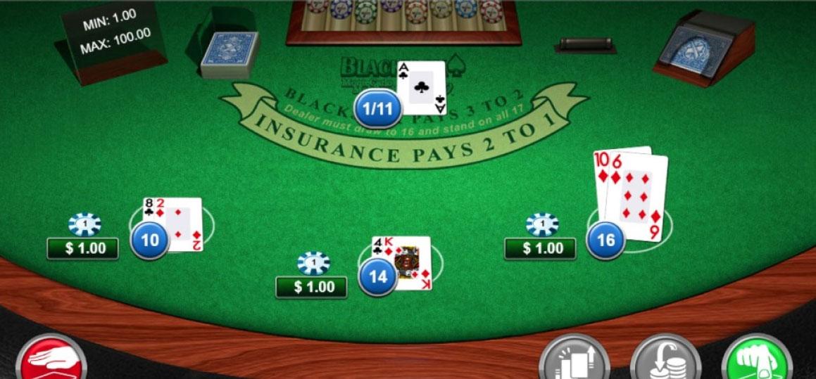 Blackjack progressivo