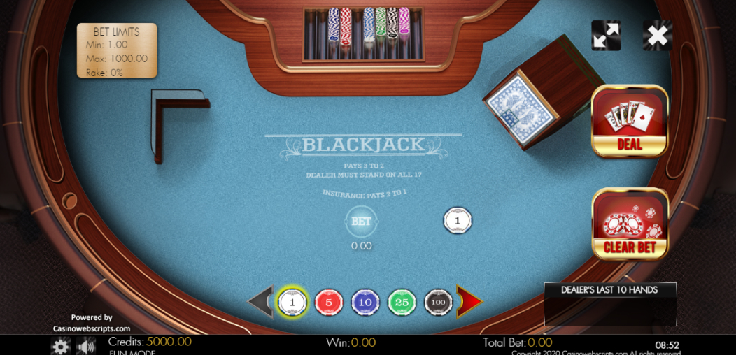 Blackjack Classico